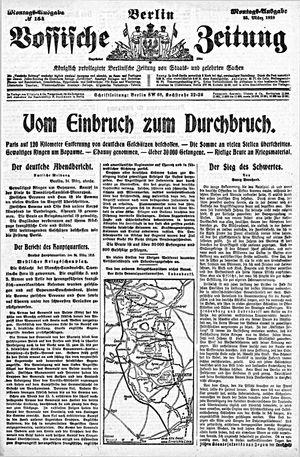 Vossische Zeitung vom 25.03.1918