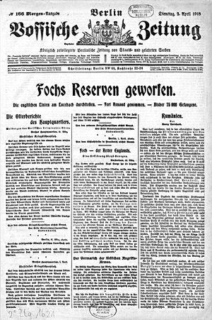 Vossische Zeitung vom 02.04.1918