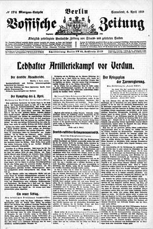 Vossische Zeitung vom 06.04.1918