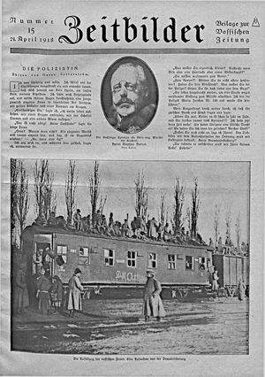 Vossische Zeitung vom 21.04.1918