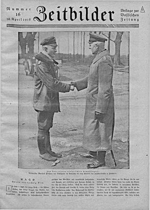 Vossische Zeitung vom 28.04.1918