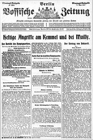 Vossische Zeitung vom 13.05.1918