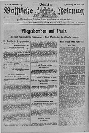 Vossische Zeitung vom 23.05.1918