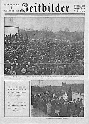 Vossische Zeitung vom 05.01.1919