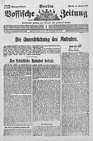 Vossische Zeitung vom 13.01.1919