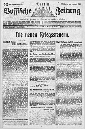 Vossische Zeitung vom 15.01.1919
