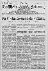 Vossische Zeitung (17.01.1919)