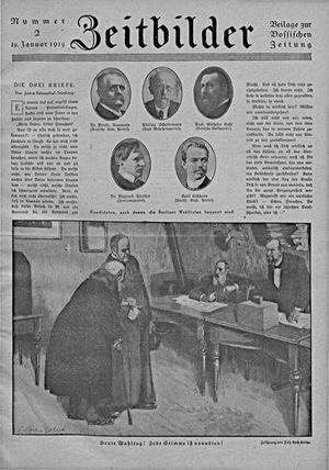 Vossische Zeitung on Jan 19, 1919