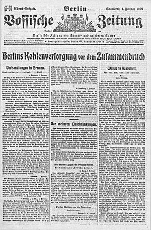Vossische Zeitung vom 01.02.1919