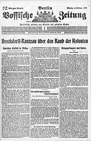 Vossische Zeitung vom 03.02.1919