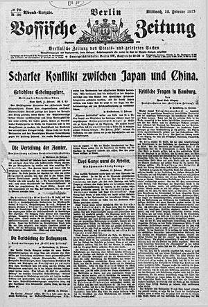 Vossische Zeitung vom 12.02.1919