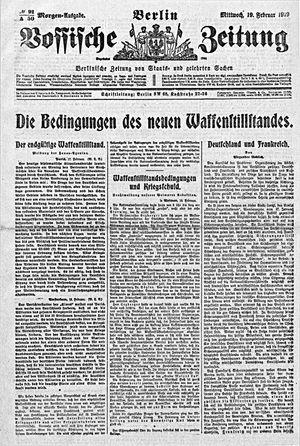 Vossische Zeitung vom 19.02.1919