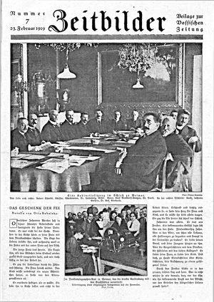 Vossische Zeitung vom 23.02.1919
