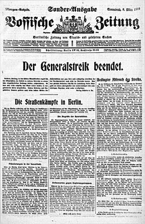 Vossische Zeitung on Mar 8, 1919