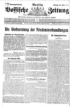 Vossische Zeitung vom 30.03.1919