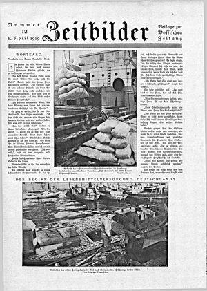 Vossische Zeitung vom 06.04.1919