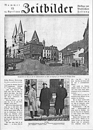 Vossische Zeitung vom 13.04.1919