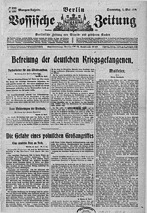 Vossische Zeitung on May 1, 1919