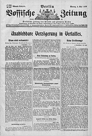 Vossische Zeitung vom 05.05.1919