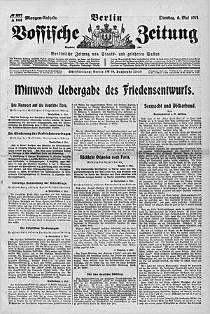 Vossische Zeitung vom 06.05.1919