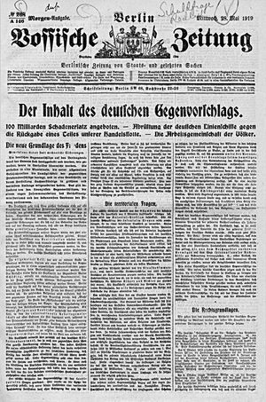 Vossische Zeitung vom 28.05.1919