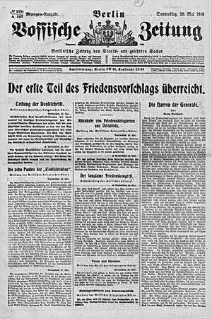 Vossische Zeitung vom 29.05.1919