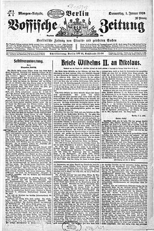Vossische Zeitung vom 01.01.1920