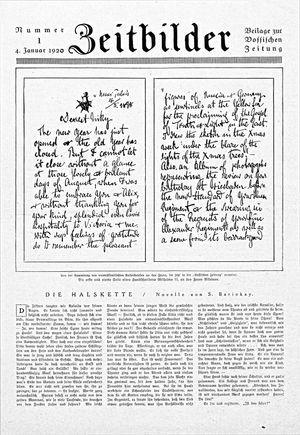 Vossische Zeitung vom 04.01.1920