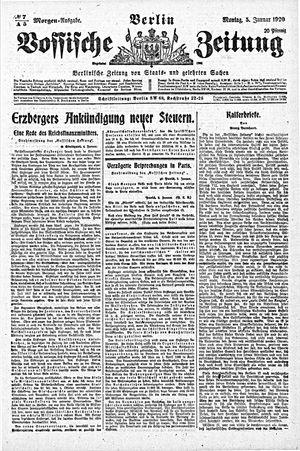 Vossische Zeitung vom 05.01.1920