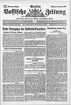 Vossische Zeitung vom 30.01.1920