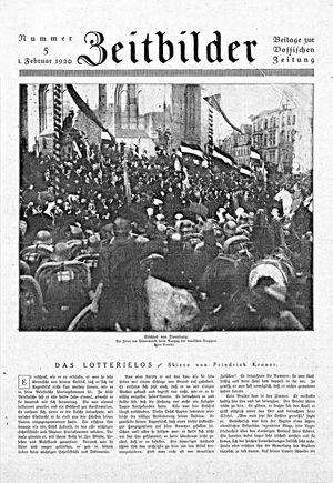 Vossische Zeitung vom 01.02.1920