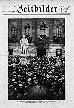 Vossische Zeitung vom 15.02.1920