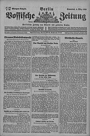 Vossische Zeitung vom 06.03.1920