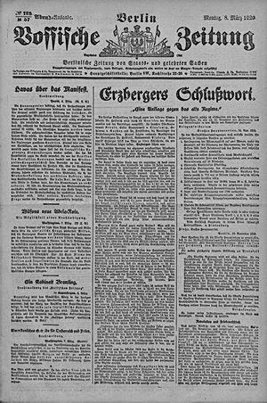 Vossische Zeitung vom 08.03.1920