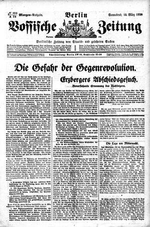 Vossische Zeitung vom 13.03.1920