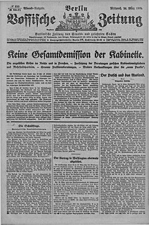 Vossische Zeitung vom 24.03.1920