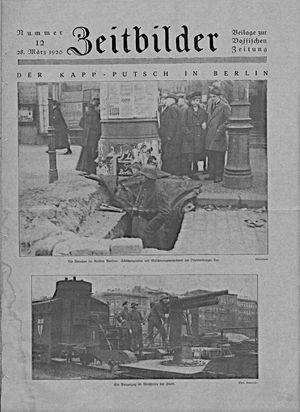 Vossische Zeitung vom 28.03.1920