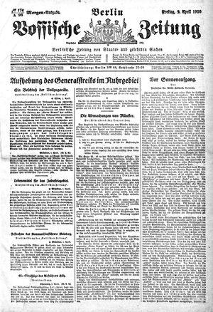 Vossische Zeitung vom 02.04.1920