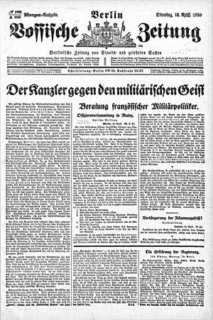 Vossische Zeitung vom 13.04.1920