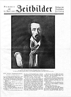 Vossische Zeitung vom 25.04.1920