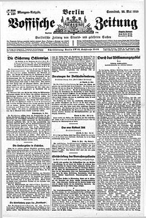 Vossische Zeitung vom 22.05.1920