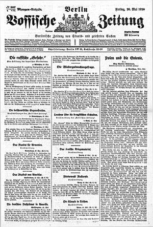 Vossische Zeitung vom 28.05.1920