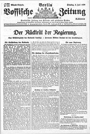 Vossische Zeitung vom 08.06.1920