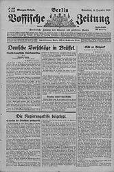 Vossische Zeitung (18.12.1920)