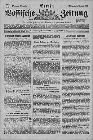 Vossische Zeitung vom 05.01.1921