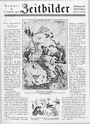 Vossische Zeitung on Jan 9, 1921