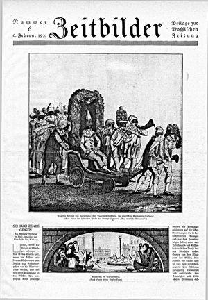 Vossische Zeitung vom 06.02.1921