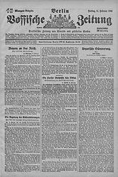 Vossische Zeitung (21.10.1921)