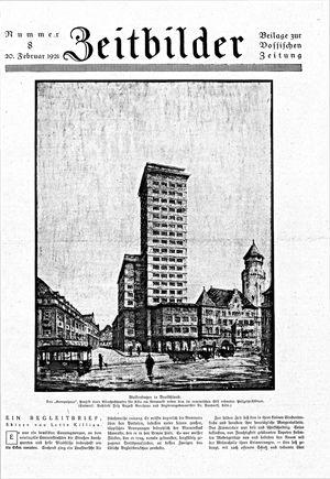 Vossische Zeitung vom 20.02.1921