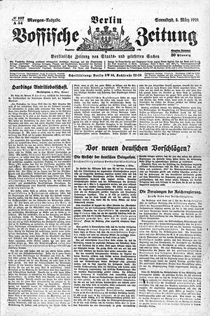 Vossische Zeitung vom 05.03.1921